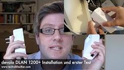 devolo DLAN 1200+ Installation und erster Test