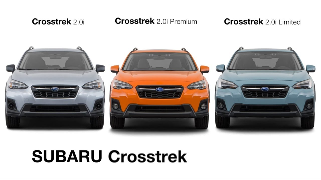 2018 Subaru Crosstrek Model Guide Us Spec