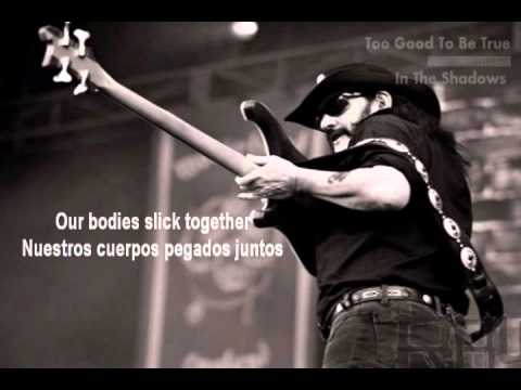 Motorhead-Too Good to Be True (Subtitulado en español & Lyrics)