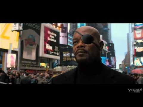 Time Square    Final Scene    Captain America The Avengers  HD
