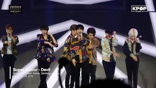 [HOT] SUPER JUNIOR - Devil at SS7 in Chile 180424