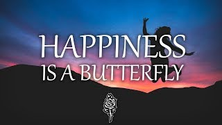 Lana Del Rey - Happiness is a butterfly (Lyrics)