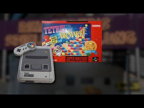 Gameplay : Tetris & Dr. Mario [SNES]