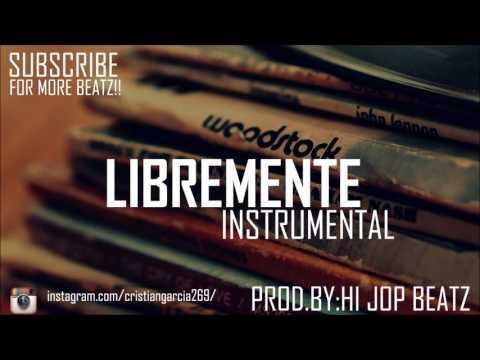 """(FREE)Hip Hop Instrumental Relax """"Libremente"""" - Base de Rap Soul 2016"""