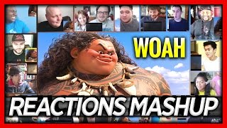 Moana Official Teaser Trailer Reactions Mashup by Subbotin