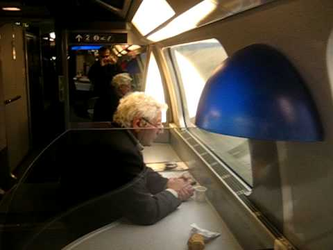 sncf tgv train to paris in dining car youtube. Black Bedroom Furniture Sets. Home Design Ideas