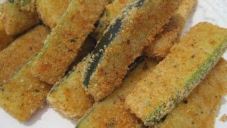 Baking Zucchini | Oven Fried Zucchini - How To Bake Zucchini Recipe