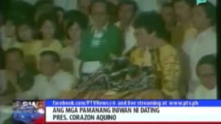 Nation celebrates Cory Aquino's 77th birthday - YouTube