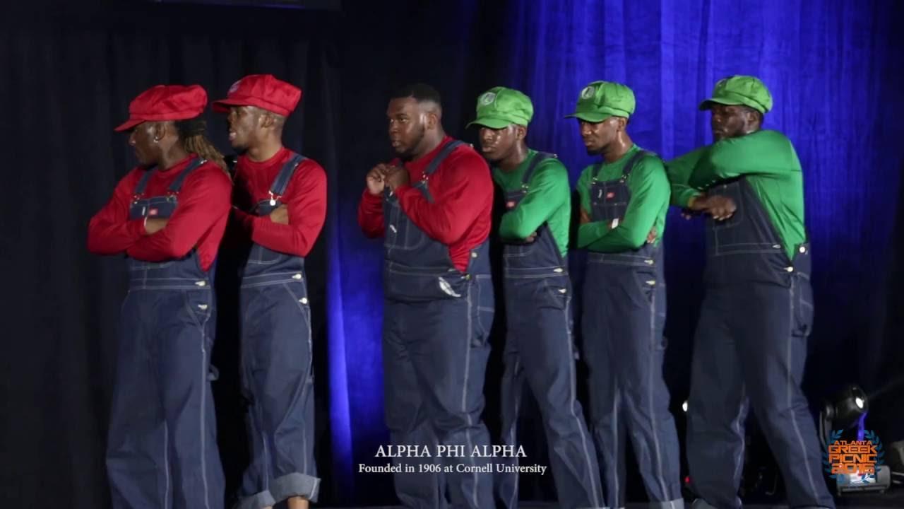 Alpha Phi Alpha Stepping