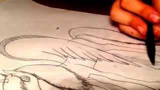 Я рисую лошадь 2(через YouTube Объектив., 2015-01-26T12:45:43.000Z)