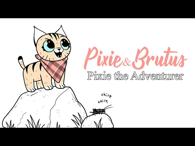 Pixie Goes On An Adventure   Pixie and Brutus Comic Dub
