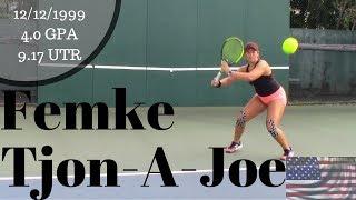 Femke Tjon A Joe College Recruitment Video