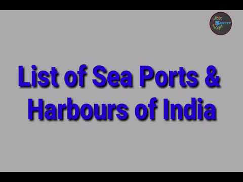 list of Indian Ports and Harbours