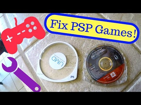 How to Fix UMD Games for PSP - Make Discs Read Again!