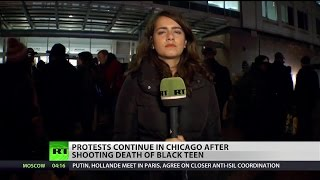 Thousands of protesters return to Chicago streets over the death of Laquan McDonald