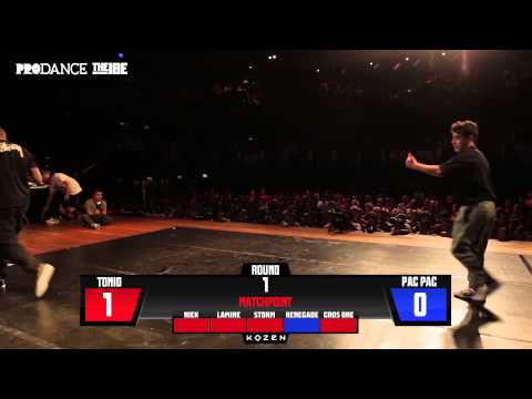IBE 2014 | Undisputed Solo Battle Semi-Final | Pac Pac Vs. Tonio