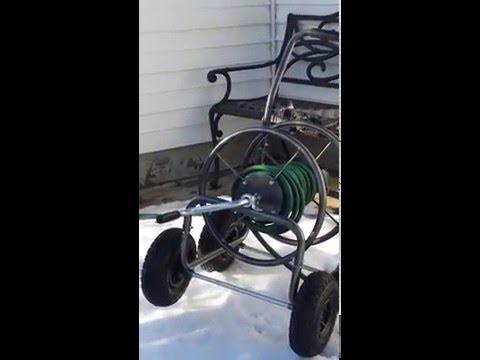 Winter livestock watering method that won't freeze.