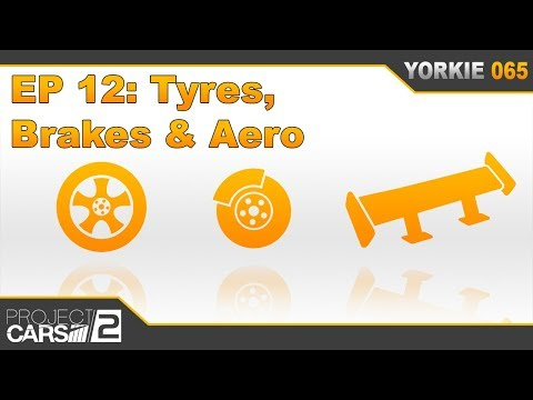 The Insider's Guide to Project CARS 2 - Episode 12: Tyres, Brakes & Aero