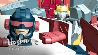 Transformers: Cybertron - Hot Shot Enters the Race