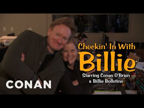 Checkin' In With Billie - CONAN on TBS