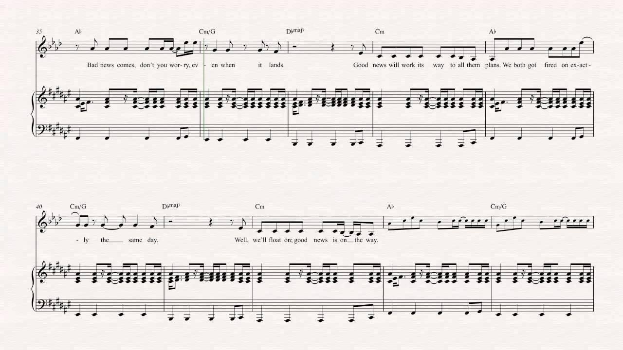 Clarinet   Float On   Modest Mouse   Sheet Music, Chords, & Vocals