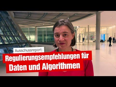 Regulierungsempfehlungen für Daten und Algorithmen (06.11.2019)