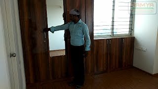 Teak wood Colour MR+ High Gloss Finish for Ramya Modular Kitchen & Interiors,