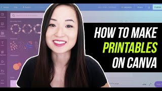 How to Make Printables on Canva for Etsy | How to Make Passive Income on Etsy