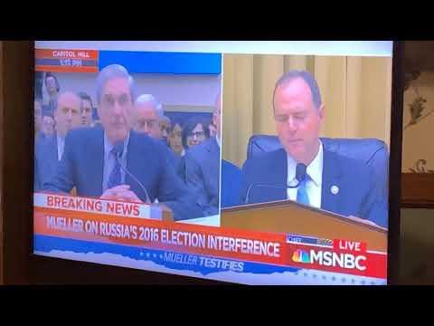 Robert Muller's Answers For Adam Schiff Implicate President Trump At Hearing