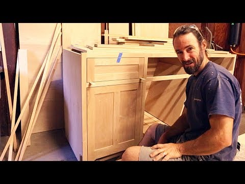 ep-7:-how-to-make-inset-doors-and-inset-drawers-/-build-inset-cabinet-doors---diy-kitchen-cabinets