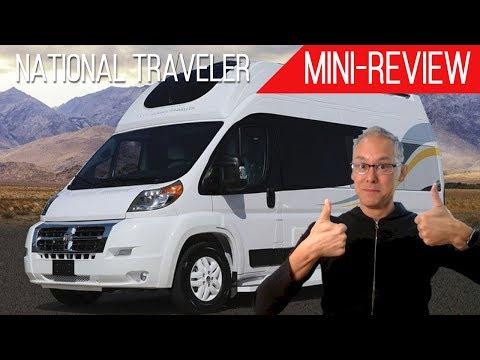 "Mini-Review   Regency RV National Traveler   7'4"" of Interior Height!"