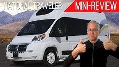 "Mini-Review | Regency RV National Traveler | 7'4"" of Interior Height!"