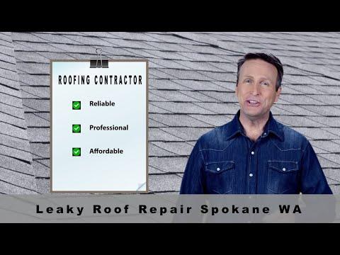 Leaky Roof Repair Spokane WA | Roofing Repair Company
