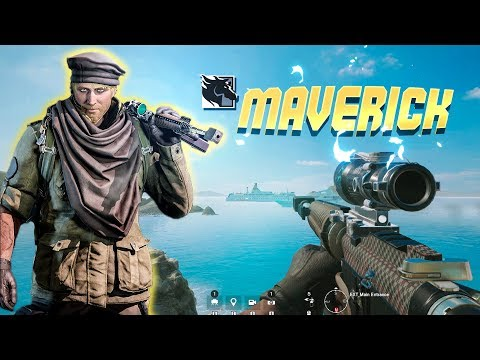 MAVERICK GAMEPLAY: 50 Caliber AR-15 Rainbow Six Siege