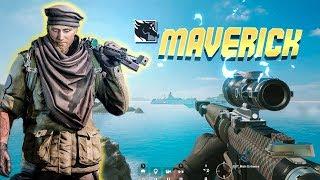 MAVERICK GAMEPLAY: .50 Caliber AR-15 (Rainbow Six Siege)