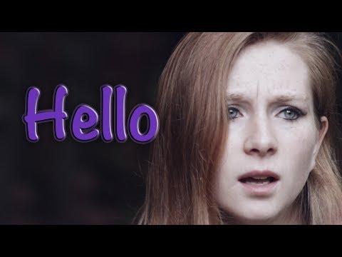 Hello - Evanescence Cover In Memory Of Marina Slavin