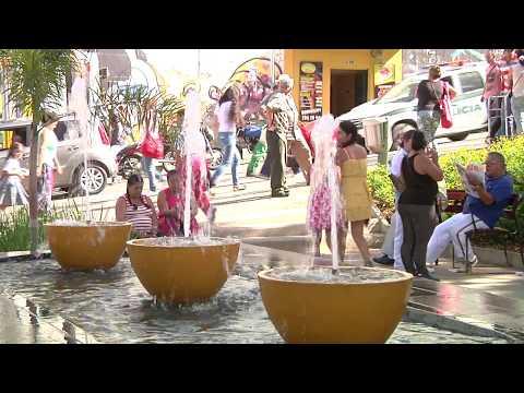 Habitantes deSan Antonio de Prado ya disfrutan del renovado parque principal