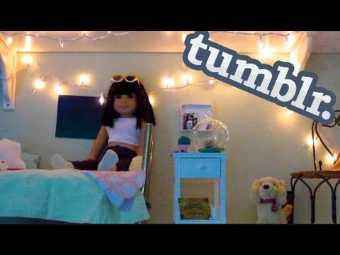 American Girl Doll Tumblr Room Tour
