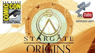 SDCC 2017 STARGATE ORIGINS PANEL CLIP / INTERVIEW SAM TOLES