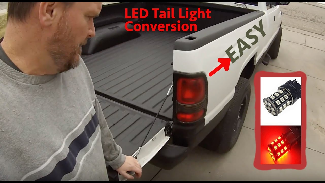 1999 Dodge Ram Easy Led Tail Light Turn Signal Conversion For Fast Flasher Fix