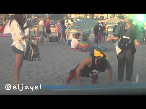 [FANCAM] 20130918 Lee Minho Doing Pushups | Huntington Beach