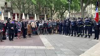 Avignon : un rassemblement place de l'Horloge en hommage à Éric Masson