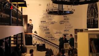 Открытие библиотеки им. Гоголя