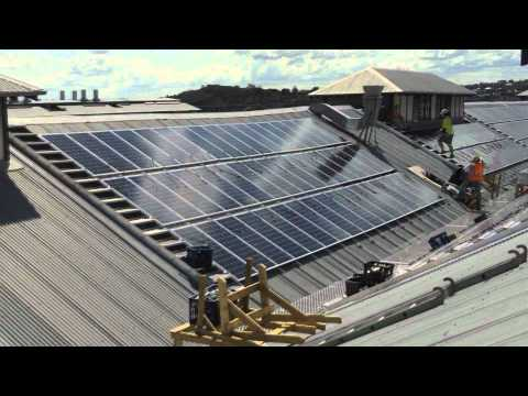 Sydney Theatre Company - Solar Installation Construction Time Lapse