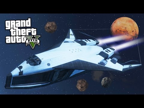 GTA 5 Mods - ULTIMATE SPACESHIP MOD!! (GTA 5 Mods Gameplay)