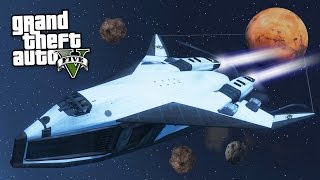 GTA 5 Mods - ULTIMATE SPACESHIP MOD!! (GTA 5 Mods Gameplay)