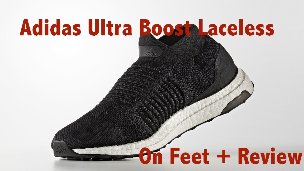 Adidas Ultra Boost Laceless Review On Feet Youtube