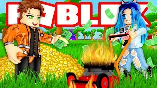 ROBLOX LAWN MOWING SIMULATOR!