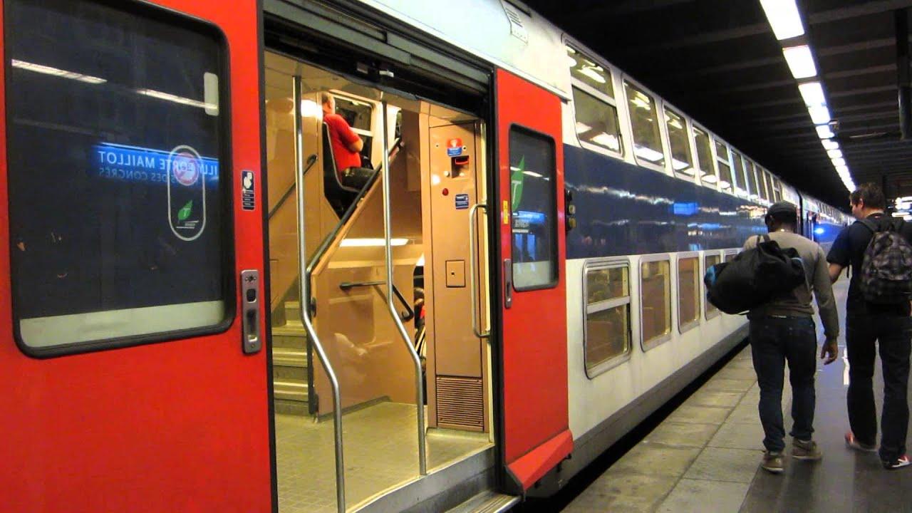 Paris z20900 rer c neuilly porte maillot romi youtube for Rer c porte maillot