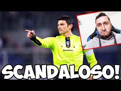 """""""DAMATO SCANDALOSO!"""" Il mio parere sull'arbitraggio di Fiorentina-Lazio 3-4"""